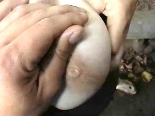 mature slut street handjob
