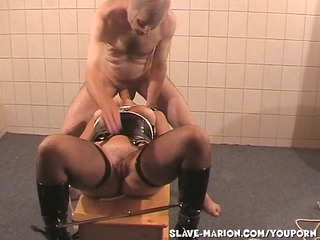 slave wife marion dominated by two guys