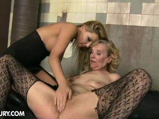 granny gets mistreated by a young lady