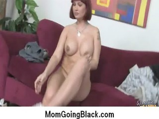 horny milf pierced by dark male extremely