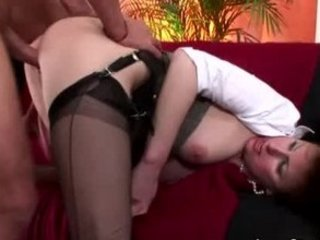 older classy nylons brit fuck sperm