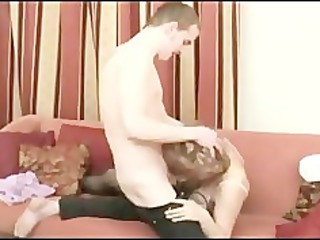russian babe gang-banged by grown-up chick lover