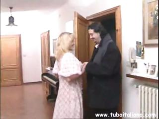 bleached european milf has a friend come over to