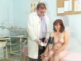 zita older angel gyno speculum exam at clinic