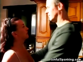 spanked cougar pretty