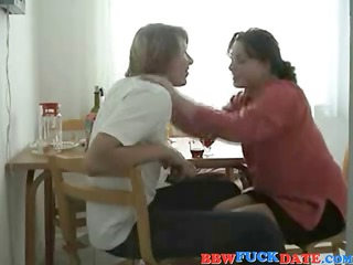 russian heavy chick and amateur guy 2