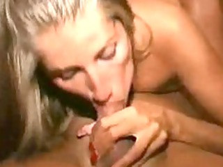 awesome grown-up babe point of view blow and cum
