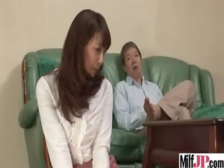 stunning japanese lady piercing unmerciful clip-28