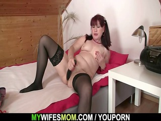 mother inside law rides his penis and acquires