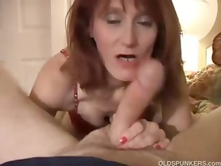 slutty grown-up amateur bangs the cameraman