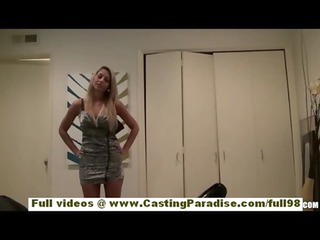 natalie vegas awesome desperate blond girl with