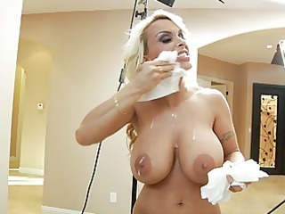 holly halston ashen mommas (behind the scenes)