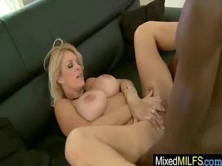 mature chick obtain banged hard by ebony penis