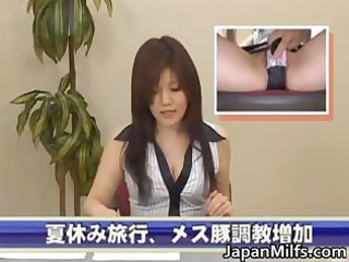 naughty japanese milfs licking and piercing part3