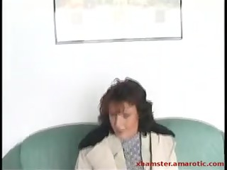aged gives outside head & parade slut