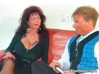 gorgeous mega breasted older whore acquires part4