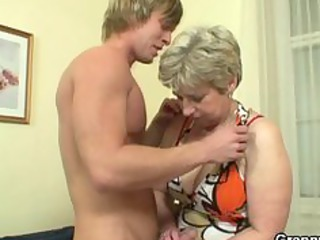 granny got her neighbours penis