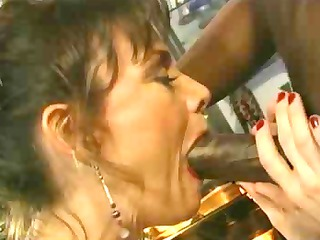 grownup 50 acquires ebony penis in her anal
