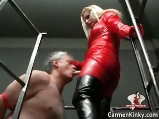 two super desperate wonderful body latex slut