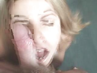 young horny maiden teasing facial cumshots