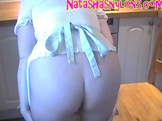 slut stockings mommy demonstrates off her huge
