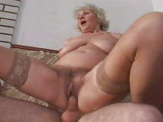 other single of elderly norma banging inside