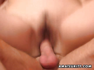 horny fresh lady licks and copulates a