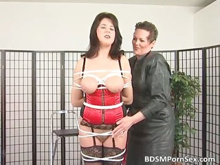 bondage game where brunette slutty mature angel