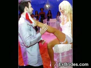 those virgin brides cant wait any longer!