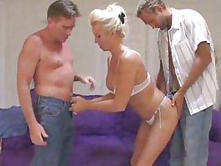 sensual girl gang-bangs more inexperienced libido