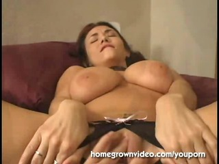 huge titty older chick left with cavity dripping
