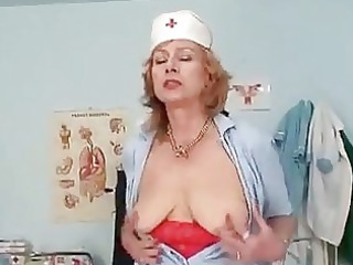 huge boobs redhaired granny dildoyin...