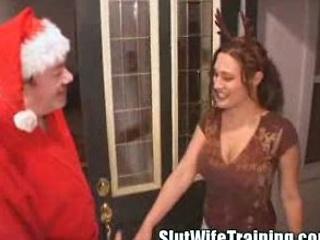 bitch lady creampie christmas