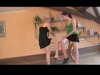 granny and teen homosexual woman 5