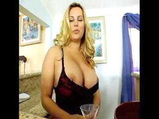 surprising big breast grown-up lady