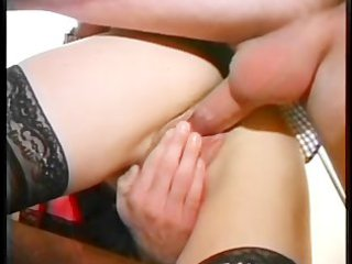 bleached maiden obtains her bossom glazed