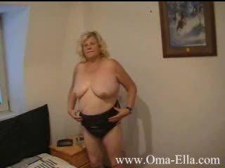 elderly stripping